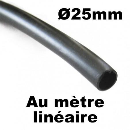 Coude palaplast Ø25mm cannelé