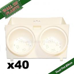 40 Modules Dual Pot Ø8cm...