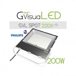Spot horticole LED 200W à...