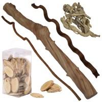 Lianes et bois naturels